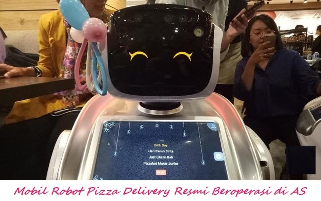 Mobil Robot Pizza Delivery